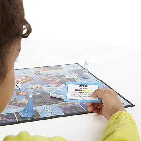 Image of Monopoly Junior Game Frozen Edition