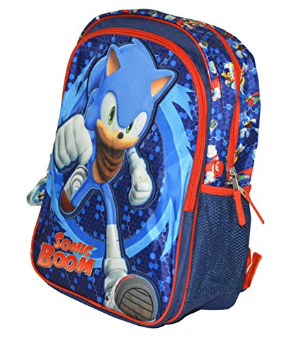 Sonic Boom Boys Large Backpack (One size, Blue)