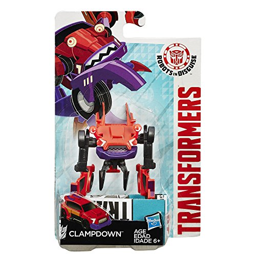 Transformers Robots in Disguise Legion Class Clampdown Figure(Discontinued by manufacturer)