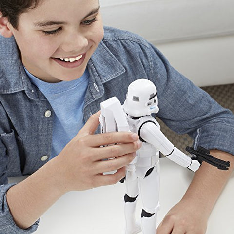 Image of Star Wars Interactech Imperial Stormtrooper Figure