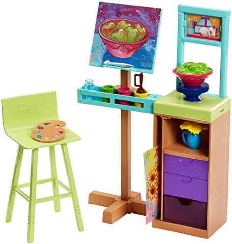Image of Barbie Art Studio Playset