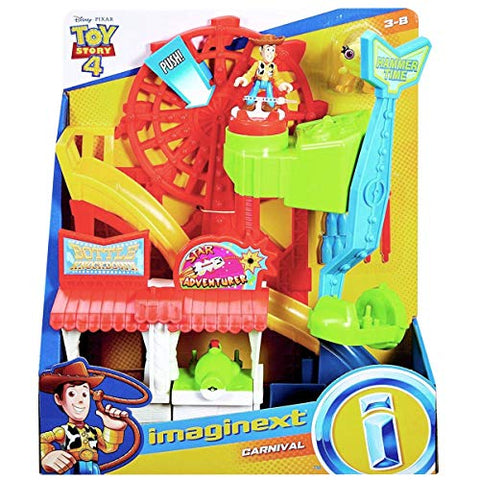 Fisher-Price Imaginext Playset Featuring Disney Pixar Toy Story Carnival