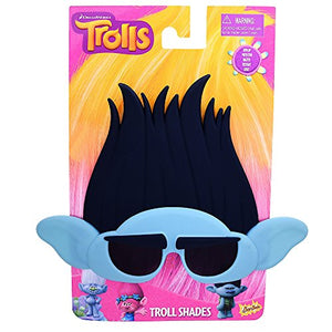 Costume Sunglasses Trolls Branch Sun-Staches Party Favors UV400