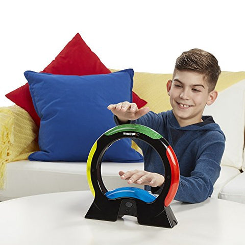 Hasbro Simon Air Game  Touchless Technology  Master the Moves to Win  Solo and 2 Player Mode  A Modern Twist on the Classic Game