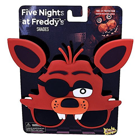 Image of Sun-Staches Costume Sunglasses Five Nights Freddy Foxy Fox Party Favors UV400