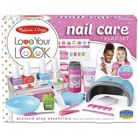 Image of Melissa & Doug Love Your Look Pretend Nail Care Play Set