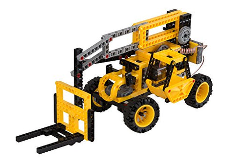 Thames & Kosmos Remote-Control Machines: Construction Vehicles | Science & Engineering Experiment Stem Kit | Build 8 Real Working Models | Parents' Choice Silver Award Winner |Astra Best Toys for Kids