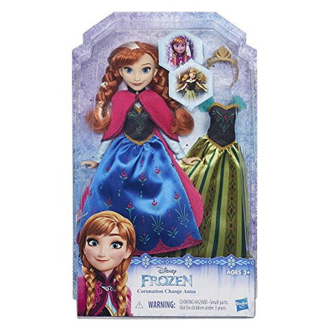 Disney Frozen Coronation Change Anna