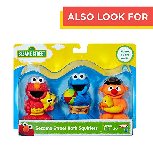 Sesame Street Bath Time Elmo: Elmo Bath Time Toy for Toddlers, Cute Swim Trunks Outfit, Soft and Washable, Toy for 18 Month Olds and Up