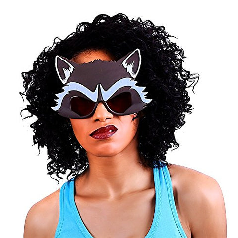 Costume Sunglasses Guardians of the Galaxy Rocket Raccoon Sun-Staches Party Favors UV400