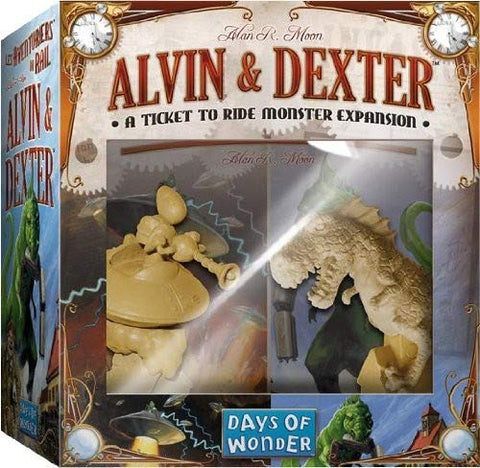 Image of Ticket to Ride: Alvin & Dexter Expansion