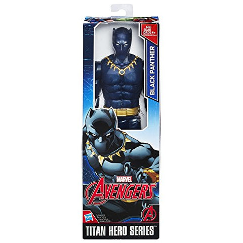 Image of Avengers Marvel Titan Hero Series 12-inch Black Panther Figure