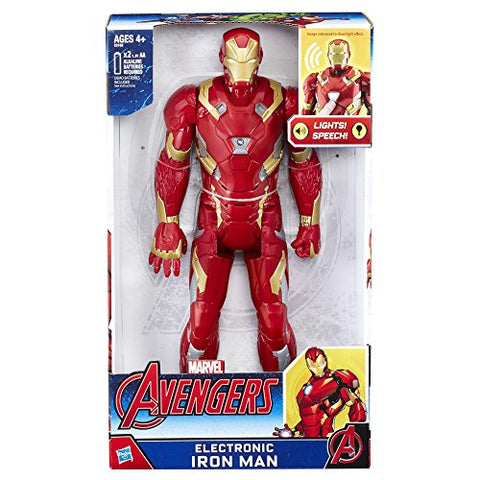 Image of Marvel Avengers Electronic Iron Man, 12-inch