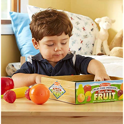Melissa & Doug Produce Bundle- Fruit & Vegetables