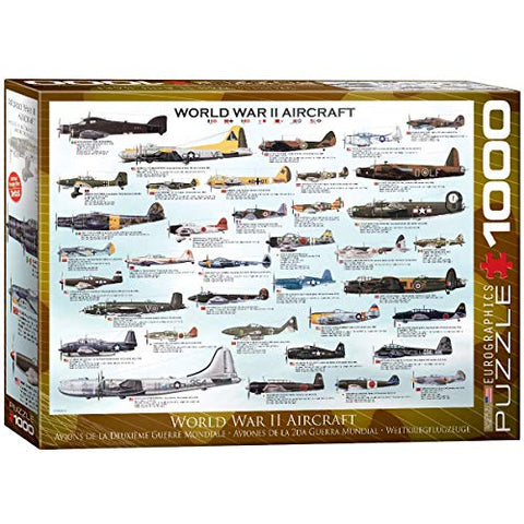 Eurographics World War II Jigsaw Puzzle - 1,000 pieces
