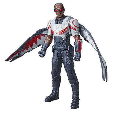 Image of Marvel Titan Hero Series Marvels Falcon Electronic Figure