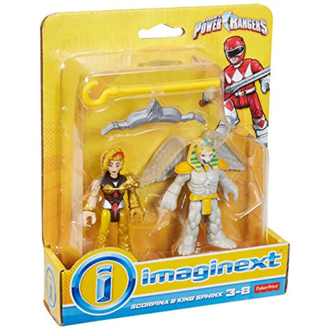 Image of Fisher-Price Imaginext Power Rangers King Sphinx & Scorpina
