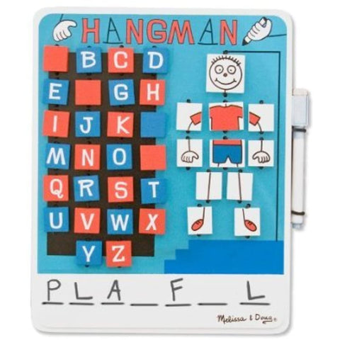 3 Item Bundle: Melissa & Doug 2098 U.S.A. License Plate Game Travel Game and 2095 Flip-to-Win Hangman Travel Game + Free Activity Book