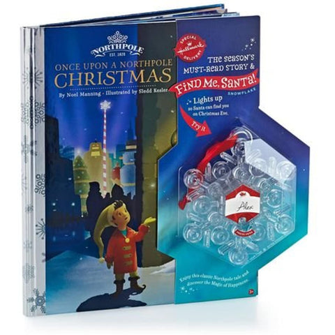 Image of Hallmark Find Me, Santa! Snowflake and Once Upon a Northpole Christmas