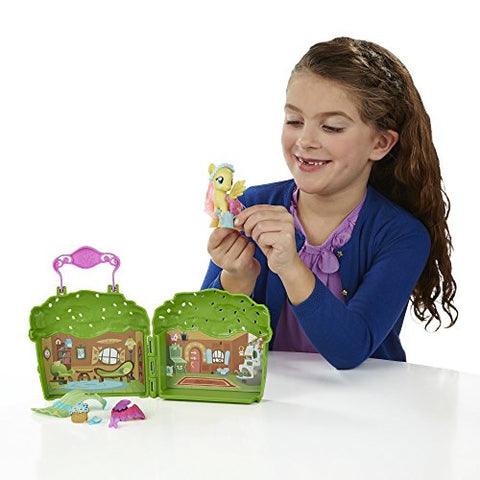 Image of My Little Pony Friendship is Magic Fluttershy Cottage Playset