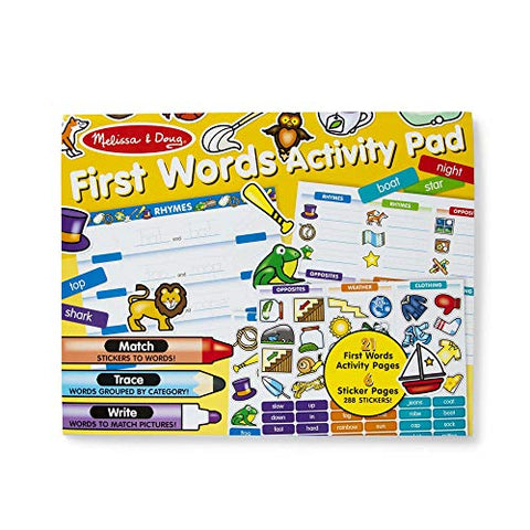 Image of Melissa & Doug First Words Activity Pad