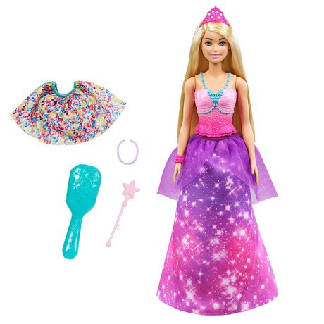 ?Barbie Dreamtopia 2-in-1 Princess to Mermaid Fashion Transformation Doll