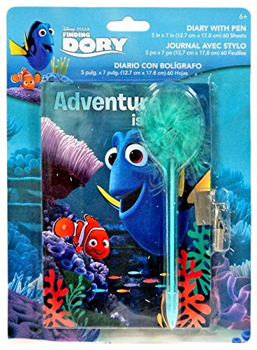 Pixar Disney Finding Dory Diary with Pen