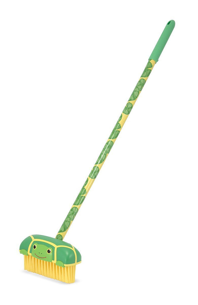 Melissa Doug Tootle Turtle Push Broom 6125