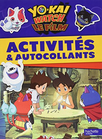 Image of Yo Kai Watch - Activits et autocollants (HJL.PF.DIV..S18) (French Edition)
