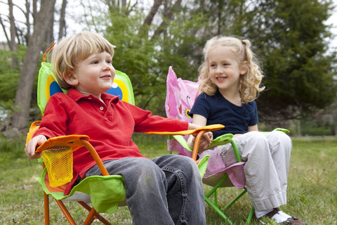 Image of Melissa Doug Happy Giddy Child's Outdoor Chair 6174