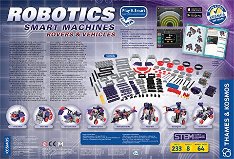Image of Thames & Kosmos Robotics: Smart Machines Rovers and Vehicles