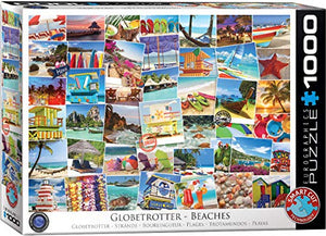 EuroGraphics Beaches Globetrotter Jigsaw Puzzle (1000 Piece)