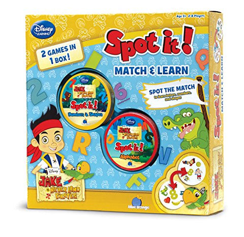Image of Spot it: 2-in-1 Jake The Pirate