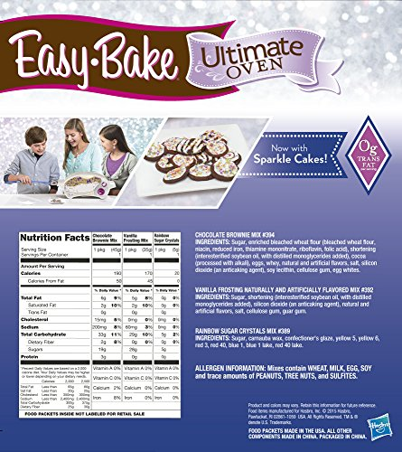 Easy Bake Ultimate Oven Baking Star Edition