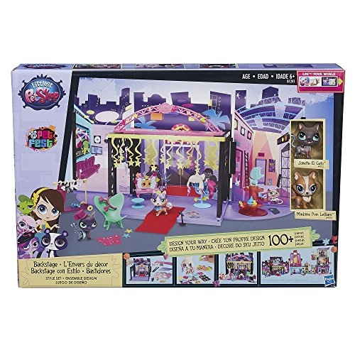 Littlest Pet Shop Backstage Style Set