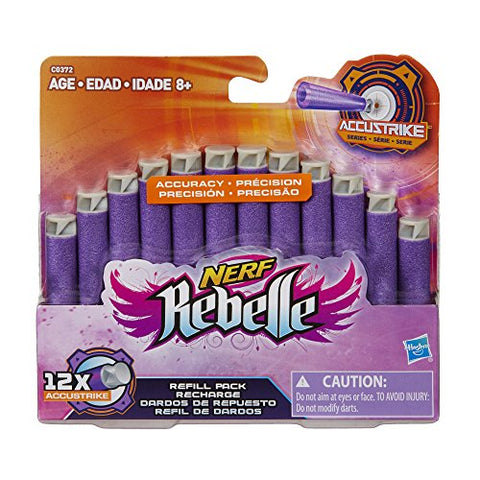 Image of Official Nerf Rebelle AccuStrike Series 12-Dart Refill