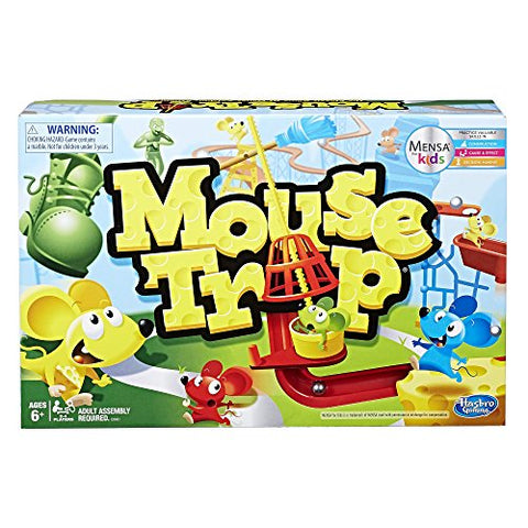 Image of Hasbro Gaming Mouse Trap Game,Brown