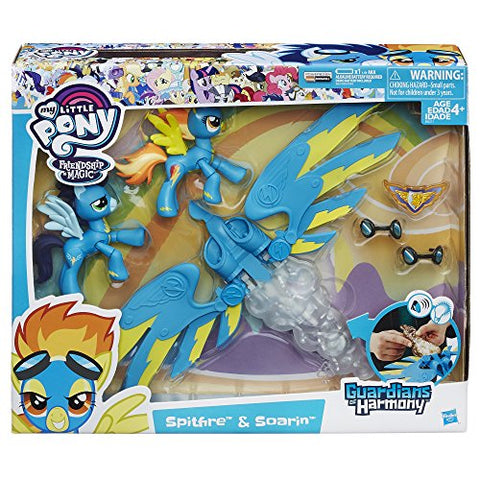 Image of My Little Pony Guardians of Harmony Spitfire and Soarin' Figures