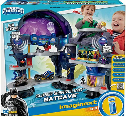 Fisher-Price Imaginext DC Super Friends, Super Surround Batcave