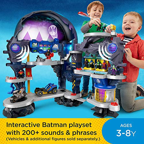 Image of Fisher-Price Imaginext DC Super Friends, Super Surround Batcave