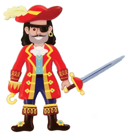 Image of Melissa Doug Puffy Sticker Play Set - Pirate