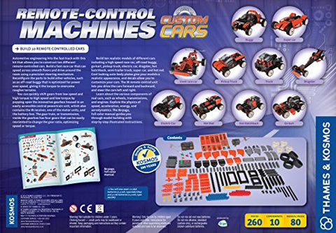 Image of Thames & Kosmos Remote-Control Machines: Custom Cars with Configurable Gear Box
