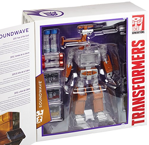 Hasbro Transformers Platinum Edition Year of The Goat Exclusive Masterpiece Soundwave