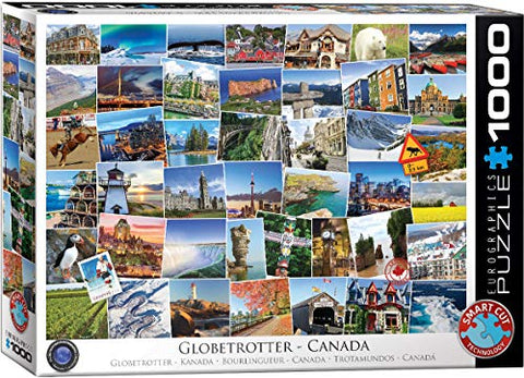EuroGraphics Canada Globetrotter Puzzle (1000 Piece)