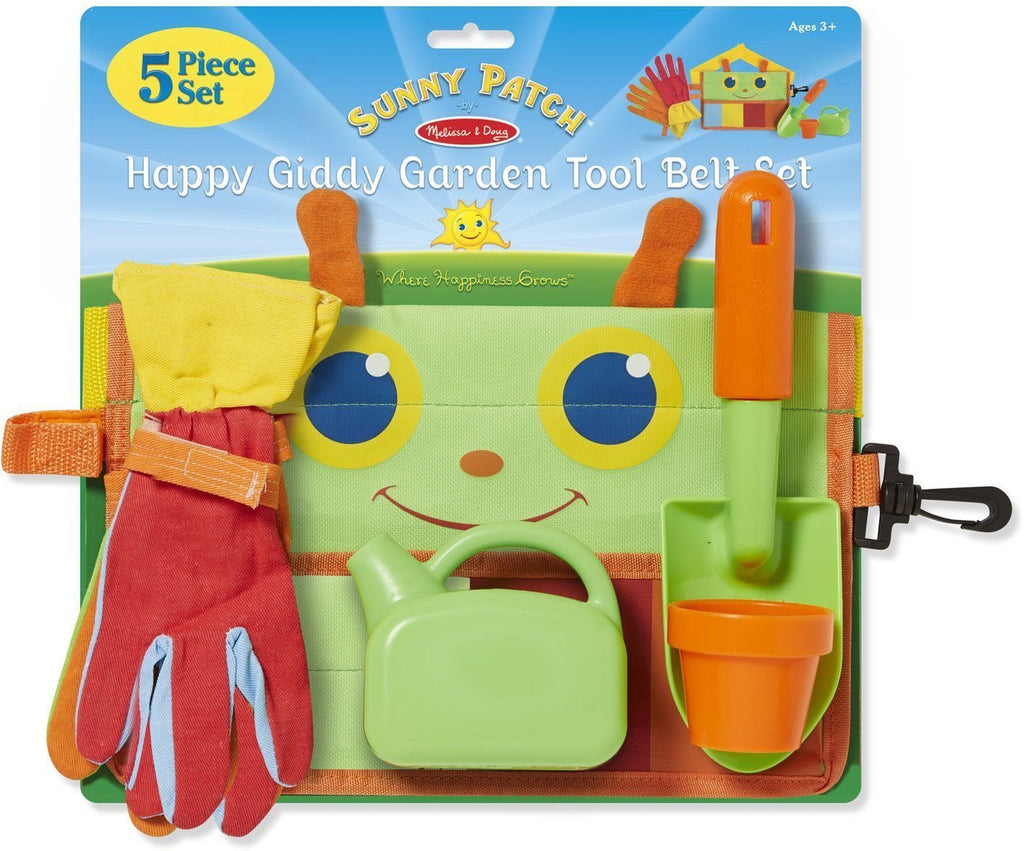 Melissa Doug Happy Giddy Garden Tool Belt Set 6215