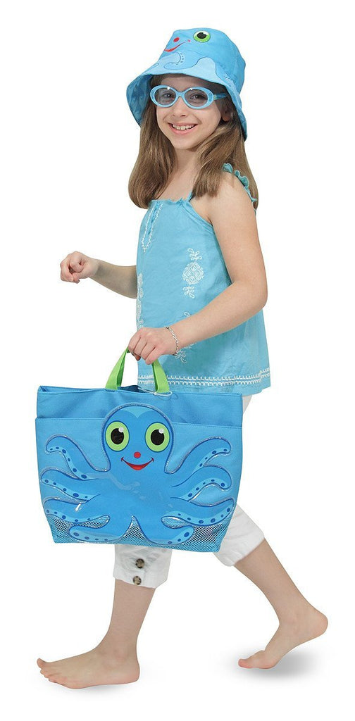 Melissa Doug Flex Octopus Beach Tote Bag