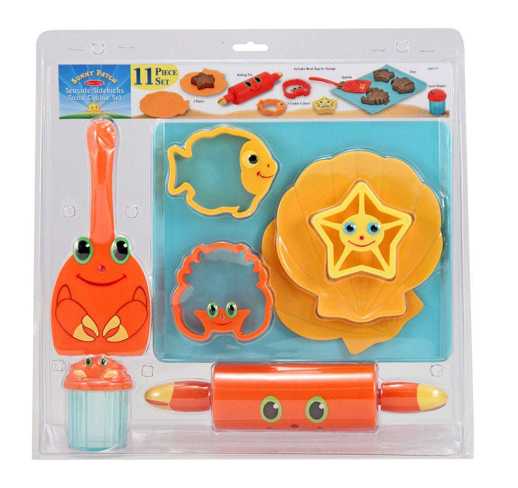 Melissa Doug Seaside Sidekicks Sand Cookie Set
