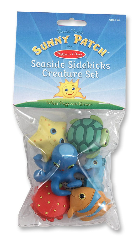 Melissa Doug Sunny Patch Seaside Sidekicks Creature Set 6463