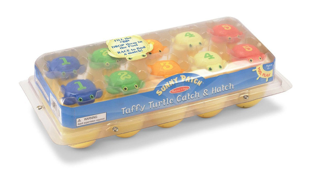 Melissa Doug Taffy Turtle Catch & Hatch