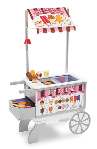Image of Melissa Doug Ice Cream Cart